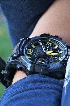 Watch, Time, Minute, Design, Casio