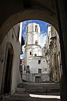 Arc, Historical Centre, Ancient, Passage, Ascent, Torre