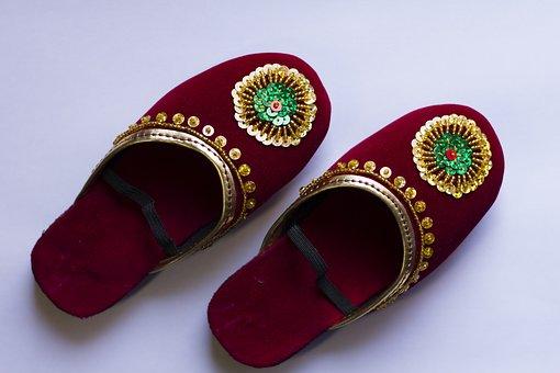 Shoes, Ladies, Bridal, Traditional, Newar, Nepal
