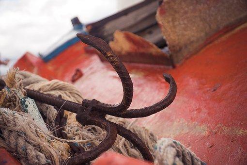 Anker, Boat, Transport, Sea, Vessel, Ship