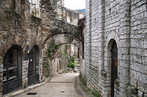 Herald, Saint-guilhem-le-desert, Village, Medieval