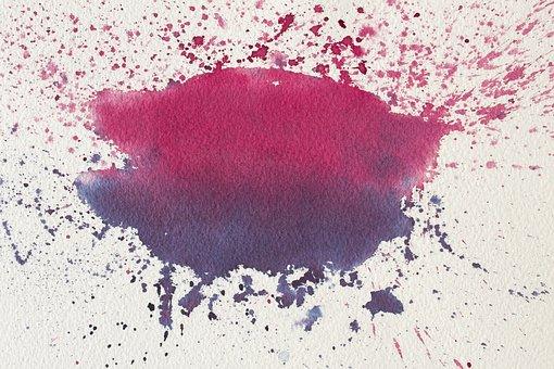 Color Spot, Watercolour, Pink, Violet, Background
