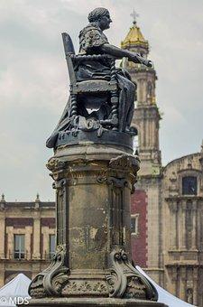 Monument, Statue, Mexico, Sculpture, Figure, Women