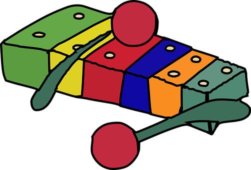 Xylophone, Sticcado, Music, Instrument, School, Child