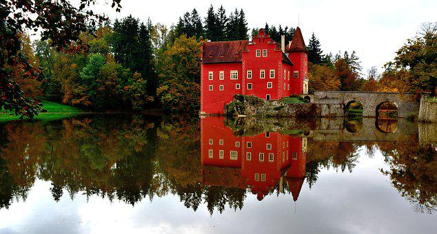 červená Lhota, Chateau, South Bohemia, Czech Republic
