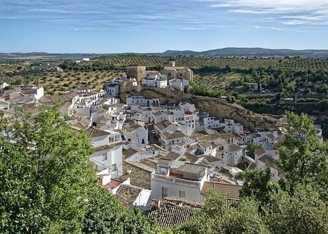 Spain, Setenil De Las Bodegas, Architecture, Andalusia