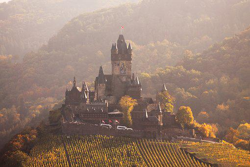 Kochem, Cochem, Castle, Romance, Mosel, Architecture