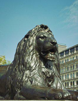 Lion, Art, Lion Keyboard, Monument, Bronze, Artwork