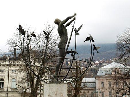 Sarajevo, Bosnia, Architecture, Hezegovina, Street