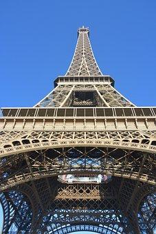 Eiffel Tower, Paris, Capital France, Paris Tourists