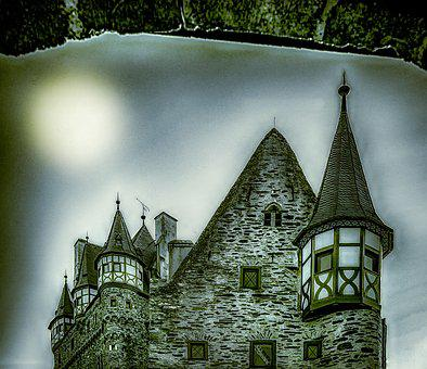 Castle, Mystical, Atmosphere, Mysterious, Mood, Fantasy