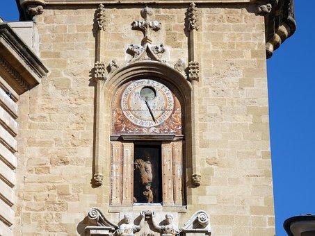 Aix-en-provence, Belfry, Clock, Astronomical