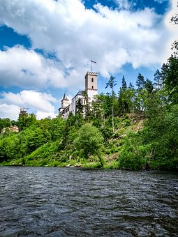Rosenberg, Bohemia, Moldova, Czech Republic, Castle