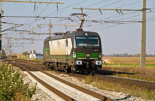 Railway, Locomotive, Electric Locomotive, Vectron