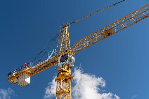 Crane, Man At Work, Work, Employment, Caution, Career