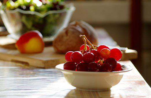 Grapes, Healthy, Nutrition, Fruit, Food, Fresh, Fruits
