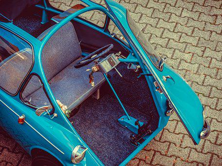 Heinkel Cabin, Innenraun, Cabin Scooter, 1957, City Car