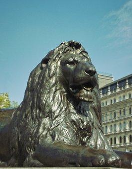 Lion, Art, Lion Keyboard, Monument, Bronze, Artwork