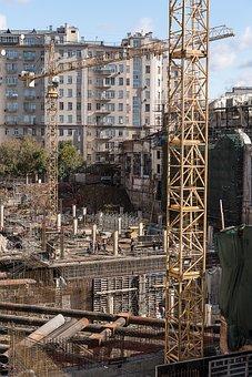 Man At Work, Men At Work, Shipyard, Build, Work, Safety