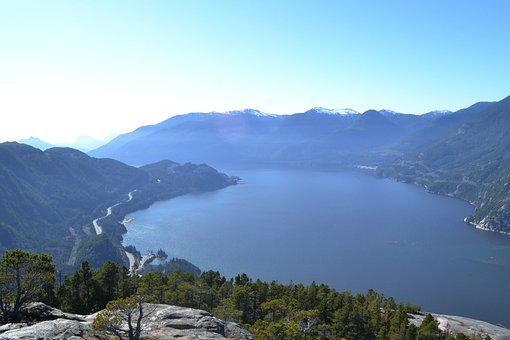 Mountains, View, Landscape, Nature, Rock, Mountain