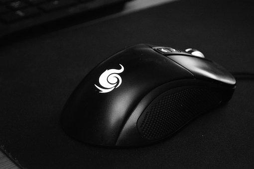 Mouse, Computer, Technology, Dark, Contrast, Shadow