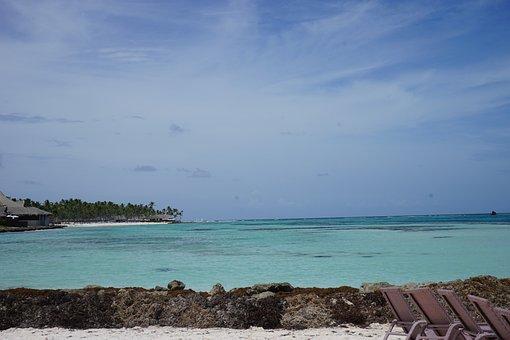 Ocean, Caribbean, Water, Beach, Summer, Paradise
