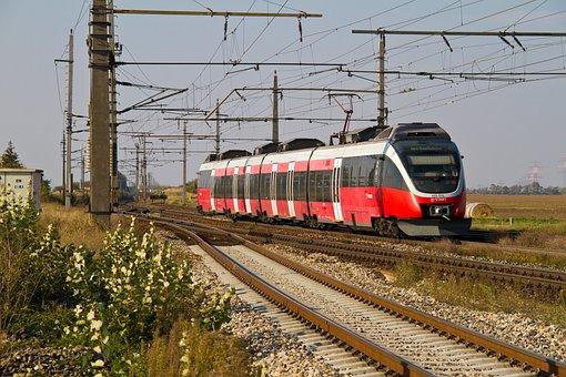Railway, Locomotive, Rail- Cars, Railcar