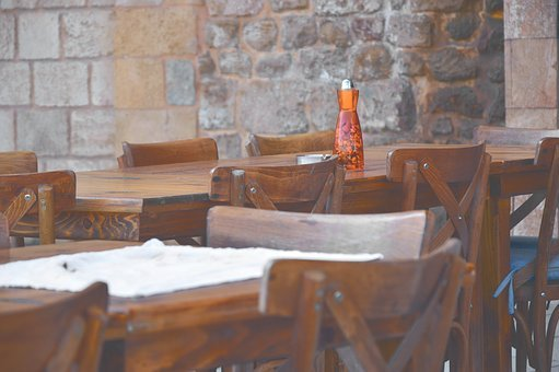 Restaurant, Tavern, Local, Dining Tables, Chairs, Wood