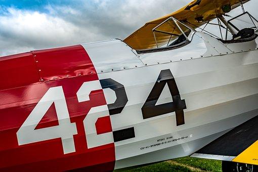 Aviation, Vintage, Old, Retro, Antique, Airshow