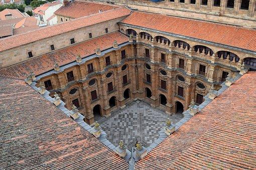 Salamanca, Building, Architecture, Monastery, Old