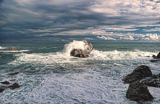 Sea, Waves, Wave, Nature, Costa, Movement, Water