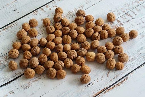 Walnut, Fruit, Nature, Eating, Split, Shell, Hard, Nuts