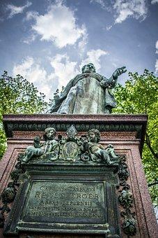 Memorial, Sky, Monument, Statue, Spa