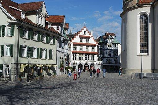 St Gallen, Historic Center, Switzerland, Historically
