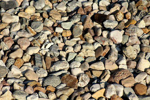 Pebbles, Texture, The Structure Of The, Model, Surface
