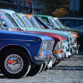 Moskvich, žigulík, Veteran, Fiat, Auto, Vehicle