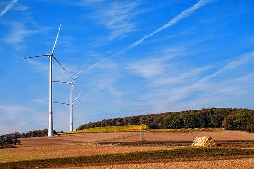 Pinwheel, Wind Power, Wind Energy, Energy, Current