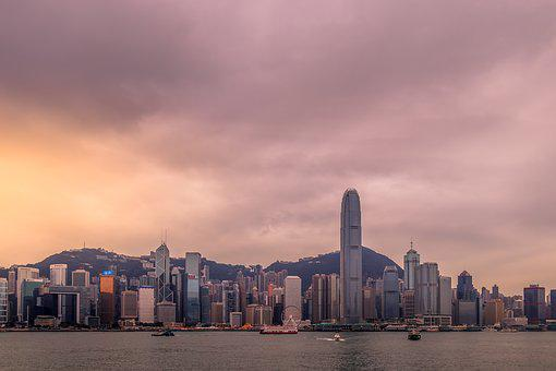 Hong Kong, Panorama, Superstructure, City, Architecture