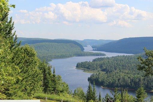 Canada, Forest, Quebec, Nature, Landscape, Water