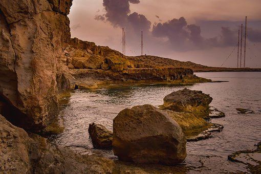 Cyprus, Cavo Greko, Landscape, Nature, Sea, Rock