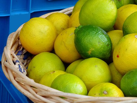 Citrus Fruits, Vitamins, Fruit, Healthy, Lemon