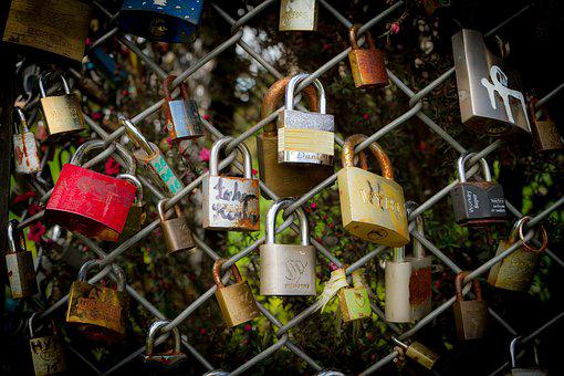 Love, Padlock, Romantic, Symbol, Padlocks, Romance