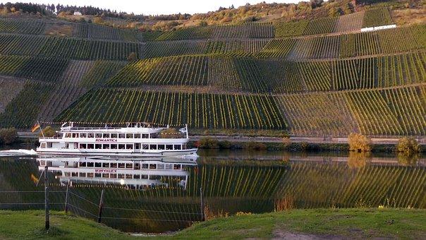 Mosel, Vineyard, Vineyards, River, Tourism, Romance