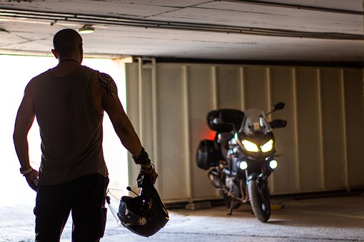 Motorbikes, Tattoo, Man