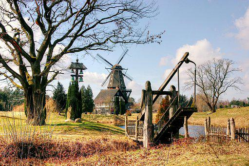 Mill, Gifhorn, Nature, Lower Saxony, Mill Museum