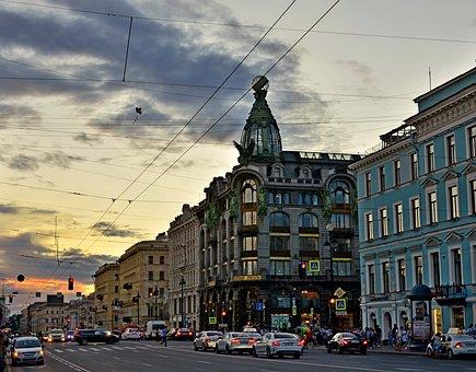 St Petersburg Russia, Peter, Petersburg, Architecture