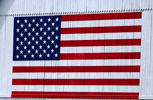 America, Flag, Usa, American, Freedom, Stripes
