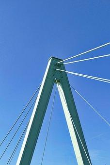 Bridge, Pylon, Architecture, Suspension Bridge