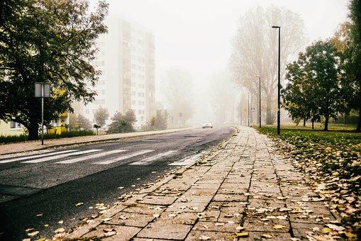 Way, Street, Architecture, Asphalt, City, Traffic