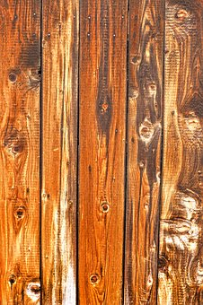 Wooden Boards, Boards, Grain, Old, Facade, Weathered